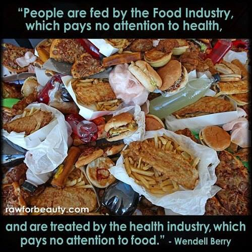Damn the Food Industry