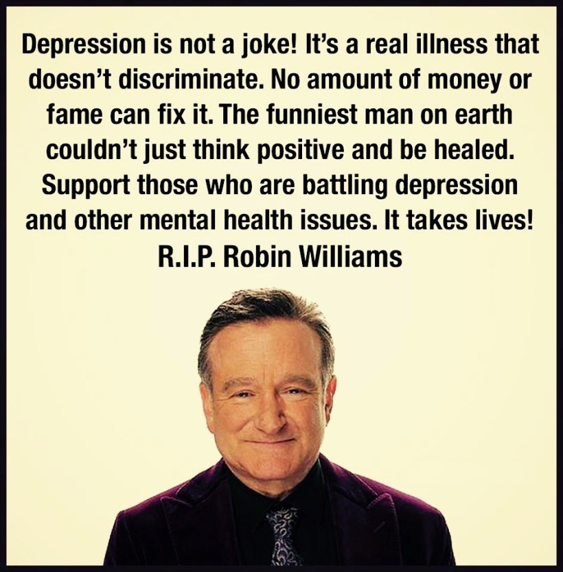 RIP Robin Williams, one year on.