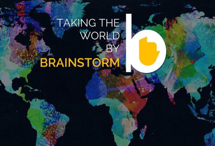 Taking the World by Brainstorm! c. Brainstorm Media