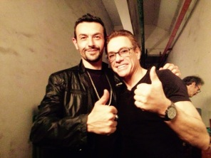 Director Philippe and JCVD