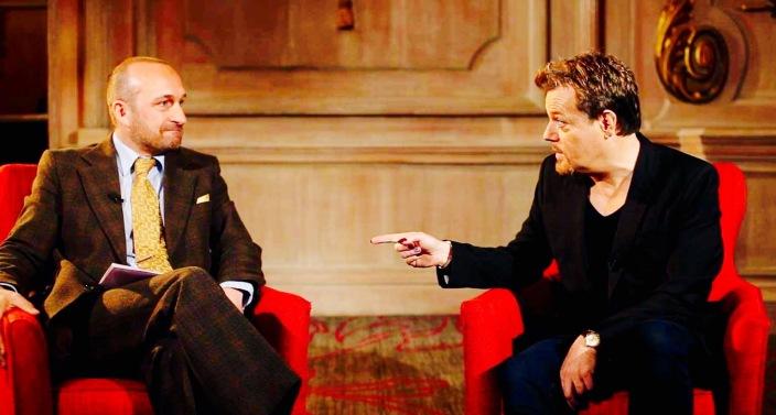 Ambassador Mat Ricardo interviews Eddie Izzard